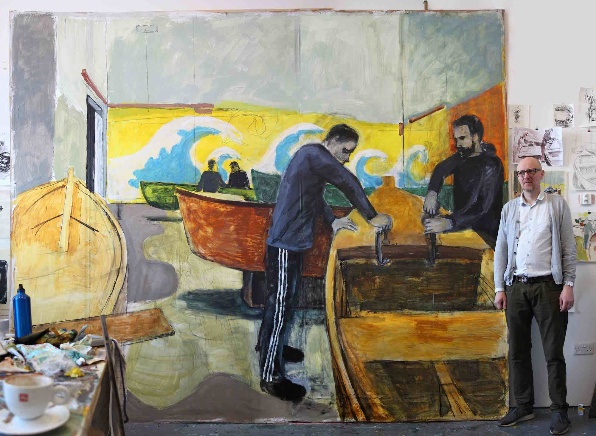 1 Boatbuilders, work in progress Feb 2018