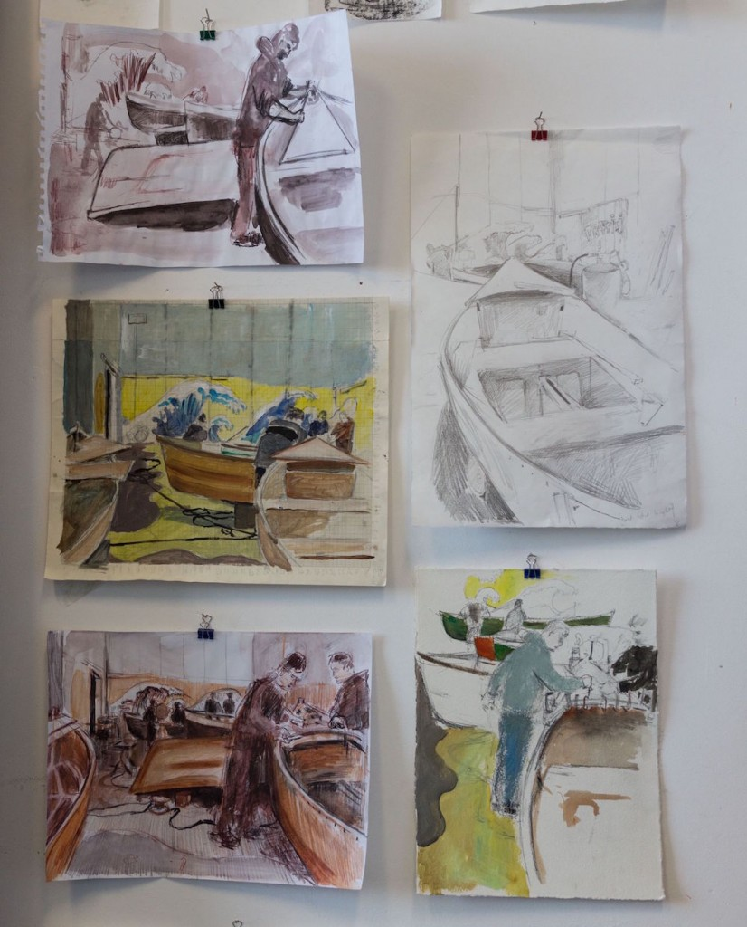 4 Boatbuilders Drawings
