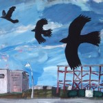 Crows over the trading estate