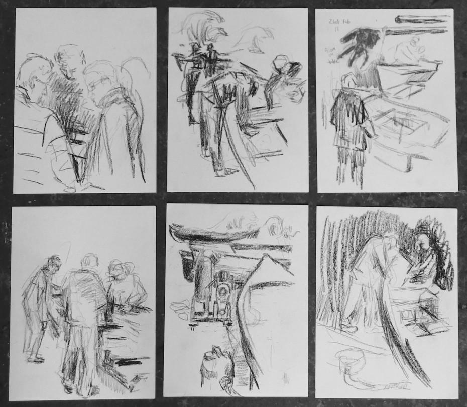 Dutch Master Sketchbook pages