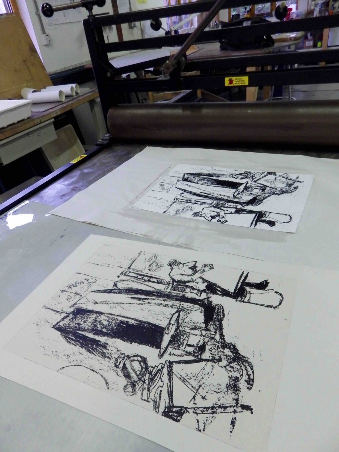 Boatbuilders Lithographs
